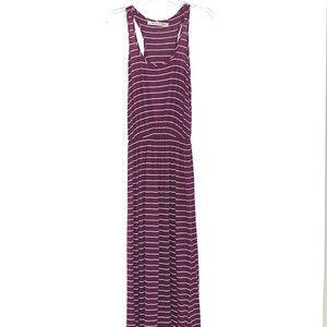 Michael Stars Sleeveless Blouson Maxi Dress